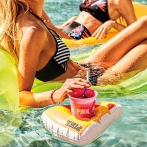 New Victoria's Secret cup and pizza floatie